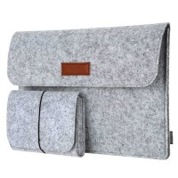 Tas Sleeve Case Laptop Macbook 12 13 inch with Pouch Lenovo Dell