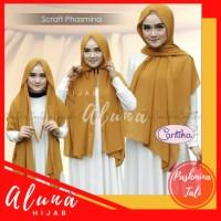 PASHMINA Hijab Diamond Tali (JAHIT TEPI) / Kerudung Pashmina Sabyan