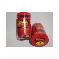 Permen Yup Love Coklat Cheweez Golden Ball Jar