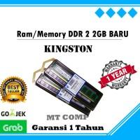 RAM MEMORY PC DDR 2 2GB BARU KINGSTON - DDR2 2GB NEW PC800 6400