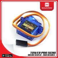 MICRO SERVO 9G SG90 TOWER PRO SG90 360 DERAJAT tools