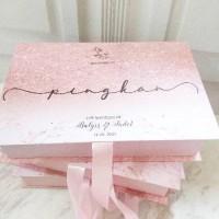 Terlaris ! Bridesmaid | Groomsmen Hard Box Packaging