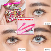 MINI AVA 14.2MM + FREE PINSET SOFTLENS KITTY KAWAII