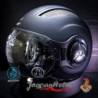 PROBIKER Helm PILOT 218 PROMO| Black DOFF | 218 Single Visor