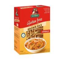 San Remo Gluten Free Pasta Spirals Brown Rice 250 Gr