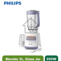 (HARGA PROMO) Philips Blender 2in1 Mika Plastik Jar HR2221/30 HR 2221