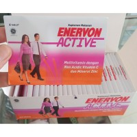 Enervon Active Strip tablet 4's/Vitamin C Vicee 500