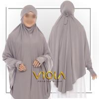 Hijab Khimar Lengan Instan / French Khimar Lengan 2in1