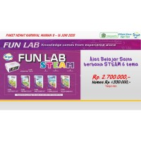Paket Hemat Alat Belajar Sains STEAM 6 Tema: Gigo Fun Lab