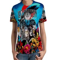 Kaos Wanita Led Zeppelin Tshirt Keren SKU10