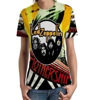 Kaos Wanita Led Zeppelin Tshirt Keren SKU09