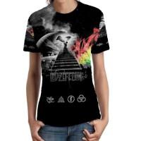 Kaos Wanita Led Zeppelin Tshirt Keren SKU04