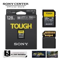 Sony 128GB SF-M Tough Series UHS-II SDXC Memory Card / 128 GB SF M