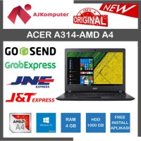 Laptop Acer Aspire 3 A314-21 - AMD A4-9120E - 4GB - 500GB - NEW