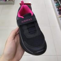 Kids Shoes Airmax Karen sepatu sekolah hitam anak cewek perempuan