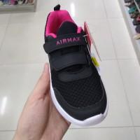 kids Shoes Airmax Felisa sepatu sekolah hitam anak cewek perempuan