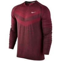 Kaos Running Nike Men's Dri Fit Knit Lengan Panjang KAOS OLAHRAGA