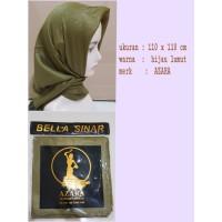 Jilbab Segi Empat Glowing Bella Sinar by AZARA