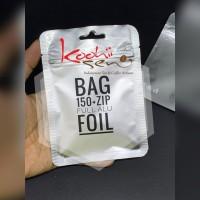 Bag 150+Zip Full Alu Foil 11x15 cm Kemasan Food Grade Packaging Kpack