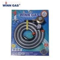 WINN GAS Selang Paket Regulator