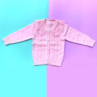 Baju Sweater Rajut Atasan Anak Perempuan Halus Import Real Picture No2