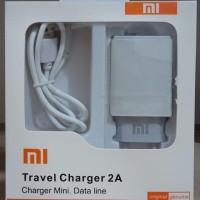 Travel charger mini XIAOMI ori 99% 2.A REAL kwalitas baguss
