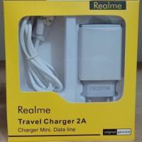 Travel charger mini REALME ori 99% 2.A REAL kwalitas baguss