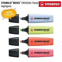 STABILO SET 4 - BOSS Pastel Edition / Highlighter Original 4 pcs