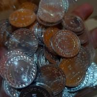 Uang Kuno 5 Rupiah KB Kecil Kinclong