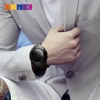 Jam Tangan Pria Smartwatch Bluetooth SKMEI 1326 Black waterresist 50m