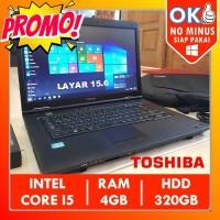 Toshiba Satellite B552 Core i5 4GB Laptop Bekas Murah 2 Jutaan Terbaik