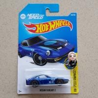 Hot Wheels Hotwheels Nissan Fairlady Z Biru HW Speed Graphics 2016