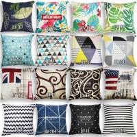 Sarung Bantal Sofa / Kursi - All Size 30, 40, 45, 50, 60, 65, 70