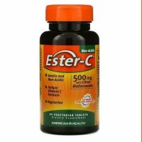 Ester-C, 500 mg, American Health,90 Vegetarian Tablets - 90 caps