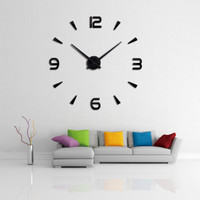 Jam Dinding Besar Giant Wall Clock Creative Design 80-130cm DIY-104