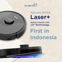 Kurumi KV03 Laser + UV Robot Vacuum Cleaner KV 03