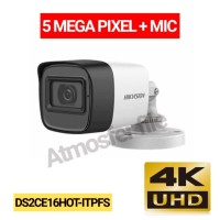 CCTV HIKVISION OUTDOOR 5MP + MIC DS2CE16HOT-ITPFS RESMI