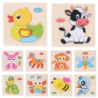 Puzzle Kayu / Puzzle Anak / Mainan Edukasi /Mainan Anak/Puzzle Edukasi - Cock