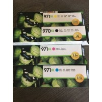 Tinta Catridge HP 970XL Black + 971XL Color Original for X451dn,X476dw