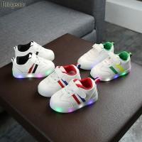 Sepatu Sneakers LED Anak Laki-laki & Perempuan Motif 002 Import -Murah - 27