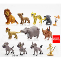 Set Figure / Topper kue /Mainan Koleksi Anak The Lion King 12 karakter