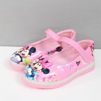 disney mickey mouse sepatu flat anak Lucu kartun fashion bayi untuk