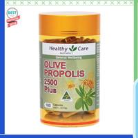 Dijual Healthy Care Propolis & Olive Leaf 180 Capsules Diskon
