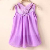 Stock Terbatas Fashion Cute Baby Sundress Skirt Kids Girls Chiffon