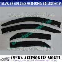 Ok Talang Air Slim Honda Brio Door Visor Side Solid Black Satya