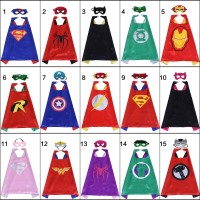 Raytheon Kostum Halloween Jubah Kartun Superhero Superman Batman
