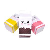 Pendant Cute Jumbo Milk Carton Squishy Phone Straps Slow Rising
