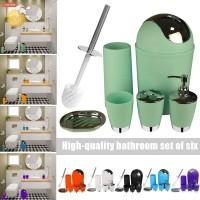 Soap Tumbler ✅❤✨ 6pcs Bathroom Accessories Set Bath Toilet