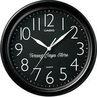 Jam Dinding Casio IQ-01 Wall Clock Casio IQ 01 Original 100% (Hitam)