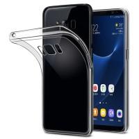 S8 Plus Case Pelindung Bahan TPU Transparan untuk Samsung Galaxy S8